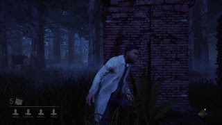 Late night stream fasing the new killer in dbd He's racist