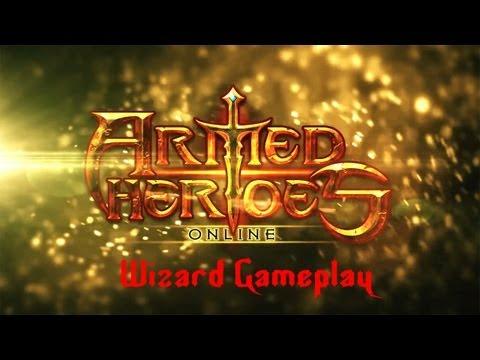 Armed Heroesu00a9 Online - Universal - HD Wizard Gameplay Trailer