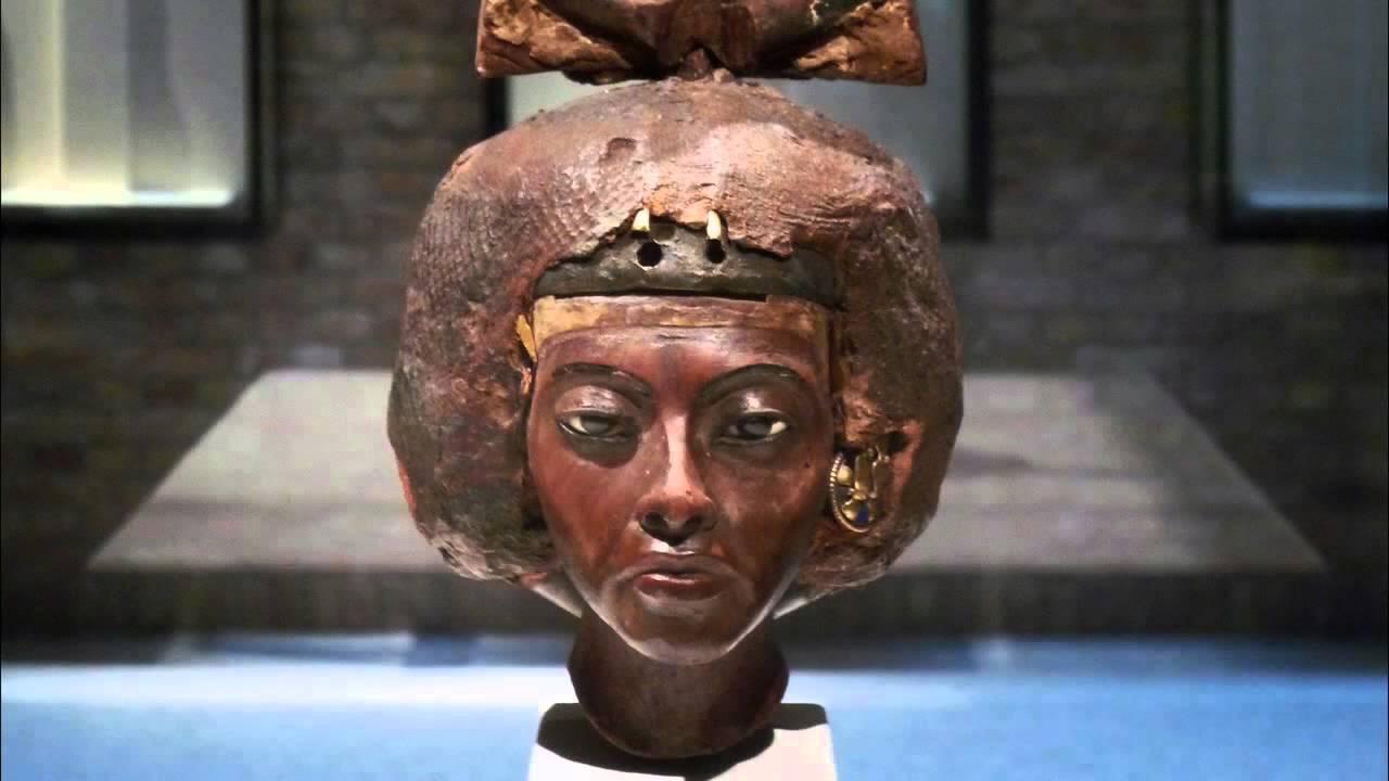 Download Kraliçe Tiye'nin Büstü (Sanat Tarihi / Antik Akdeniz Sanatı)