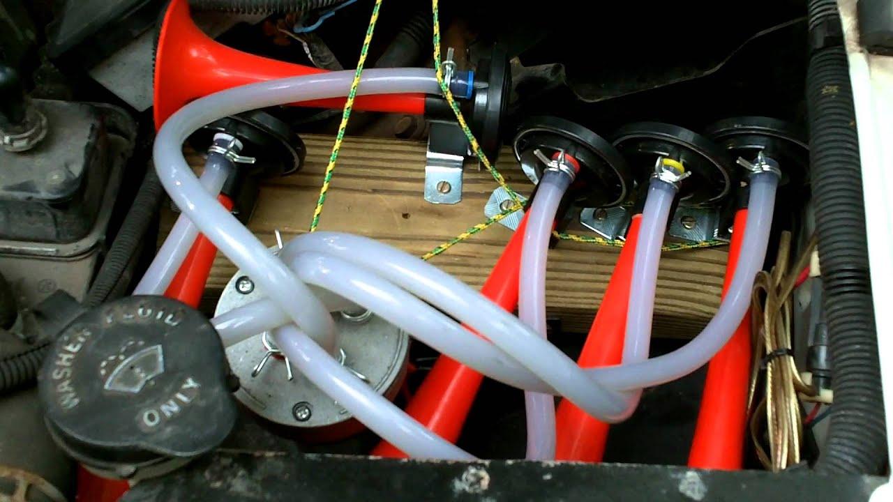 dixie horn youtube rh youtube com air horn wiring diagram wolo dixie horn wiring diagram [ 1280 x 720 Pixel ]
