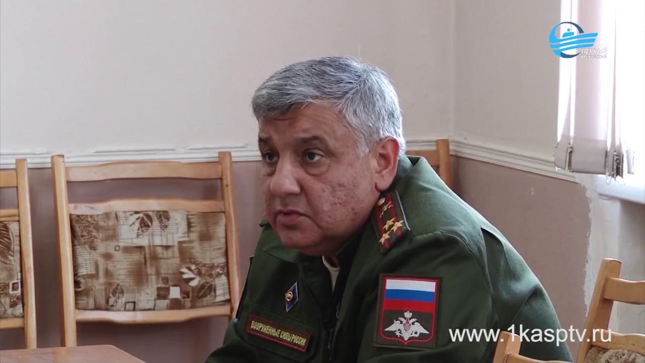 В Каспийске завершается весенняя призывная комиссия