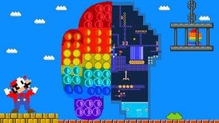 Mario VS Giant Among Us POP IT Maze - Game animation   Pacman Parody