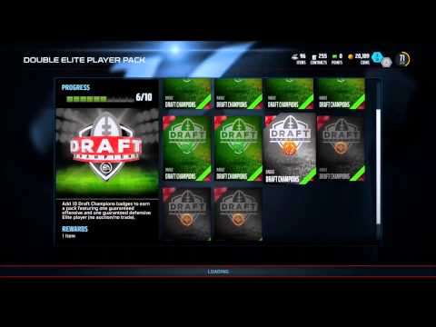 Madden 16 Draft Champions Double Elite Pack Opening and Online H2H Draft Champions Rewards!
