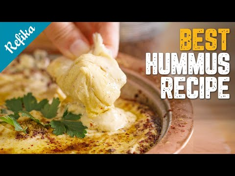 The Best Hummus Recipe You Will Surely Use Your Whole Life!