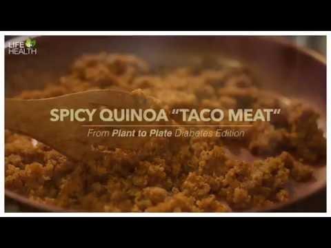 """Spicy Quinoa """"Taco Meat"""""""