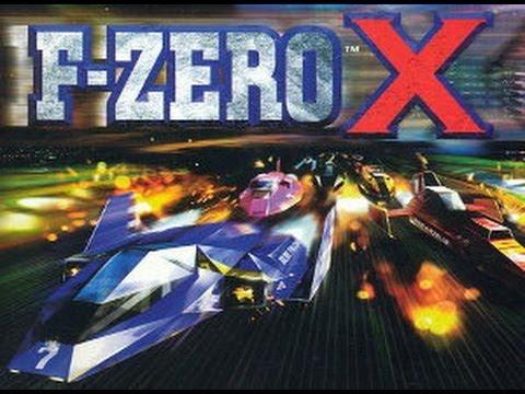 VideoTest F-Zero X (N64)