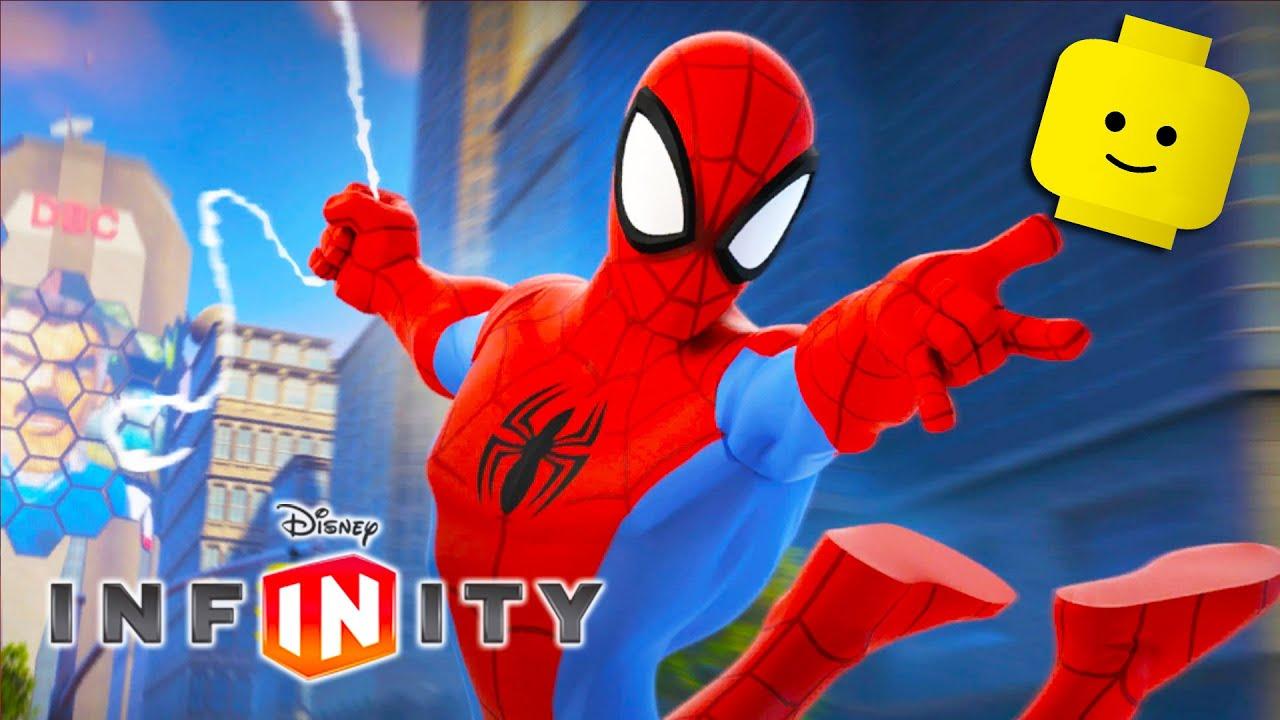 Spiderman Cartoon Game Videos For Kids Video Games For Children Disney Infinity 3 0 Youtube