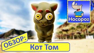 Обзор игрушки Резиновый кот Том