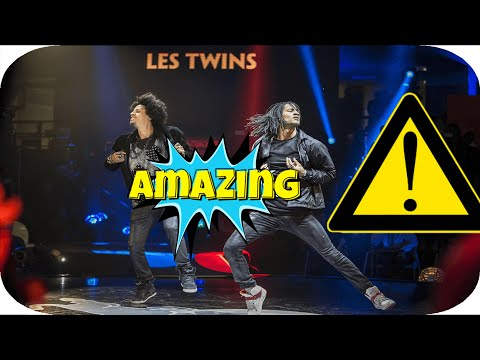 Les Twins THE DANCE 2016 (Urban Dance Competition) PERFORMANCE in Zürich