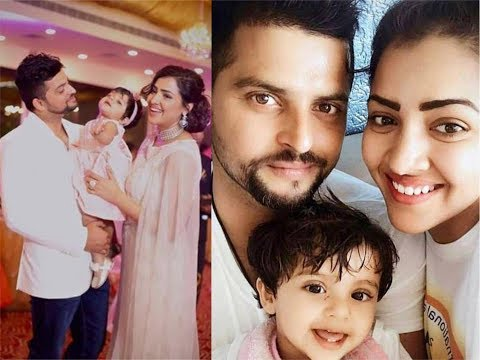 Suresh Raina with his Wife and Daughter Gracia | Suresh ...