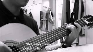 Nhớ về em (Jimmy Nguyen) guitar solo