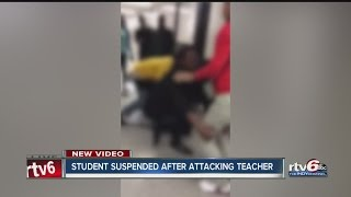 Student suspended for attacking teacher at Arlington High School