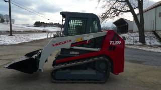 2011 Takeuchi TL230 Series 2 Compact Track Loader For Sale Running and Operating Video!