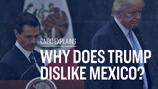 What's Donald Trump's beef with Mexico? | CNBC Explains