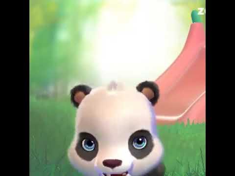 Панданың баласы сөйлейді екен