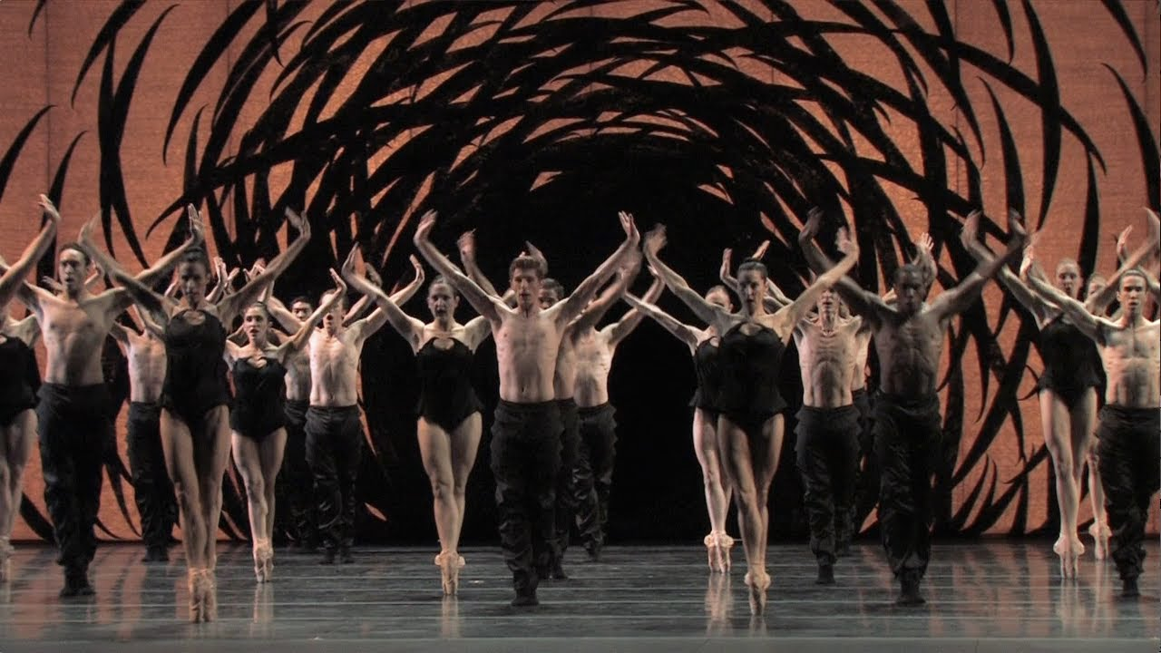 Crystal Pite's Emergence - excerpt - YouTube