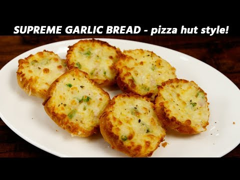 supreme-garlic-bread---pizza-hut-style-recipe---cookingshooking