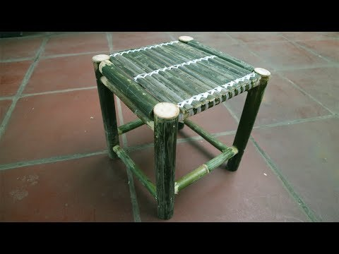 How to make bamboo chair beautiful | Bamboo Furniture making