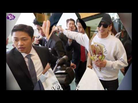 孔刘穿《鬼怪》剧服告别台湾 粉丝买机票候机室送机