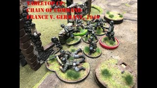 Tabletop CP: Chain of Command- France v Germany, 1940