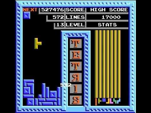 Image result for tengen tetris nes youtube