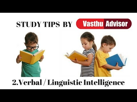 Verbal / Linguistic Intelligence by Vasthu Advisor