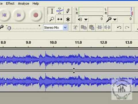 Vinyl to CD using Audacity