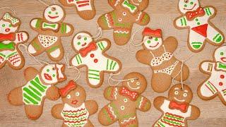 ИМБИРНОЕ ПЕЧЕНЬЕ 🎄 ПРЯНИЧНЫЙ ЧЕЛОВЕЧЕК🎄 как приготовить дома рождественское печенье Gingerbread Man