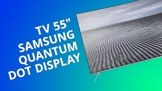 "TV 55"" Samsung Quantum DOT Display curvo - modelo modelo KS7500 [Análise]"