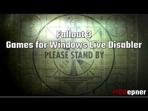 Fallout 3 - Games for Windows Live Disabler