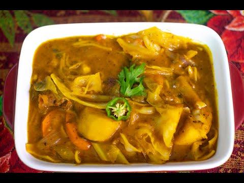 Soup joumou - Resèt ayisyen by #ChefGaspard