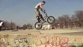 "BMX - Street - at Skatepark ""De Griend"" Maastricht. (Ghost Racing Team)"