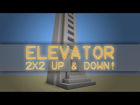 NEW Piston Elevator! 2x2 Up and Down, Small 6x4 footprint!