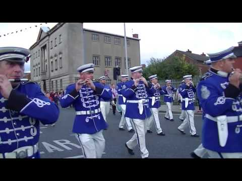 East Belfast Battle Of The Somme Commemoration Parade 2016