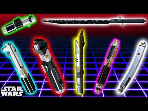TOP 7 Lightsaber Colours and Meanings (CANON) - Star Wars Explained