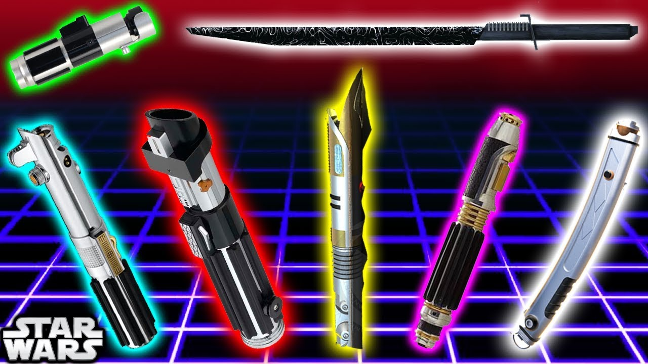 top 7 lightsaber colours and meanings canon star wars explained