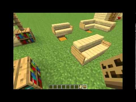 comment faire des meubles minecraft youtube. Black Bedroom Furniture Sets. Home Design Ideas