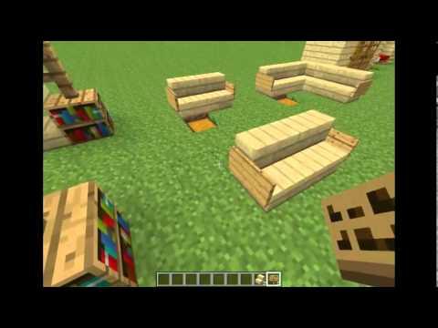Comment faire des meubles minecraft youtube for Minecraft meuble