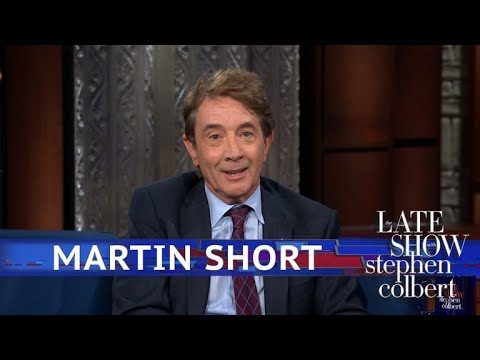 Martin Short Owns The World's Fattest Dog