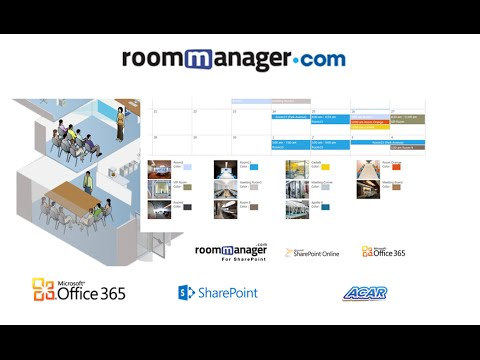 conference room booking solution - YouTube