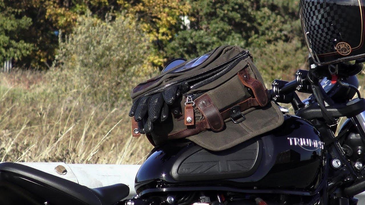 Tankrucksack Triumph Bonneville T100 Bagster Roader+Easy Road rt