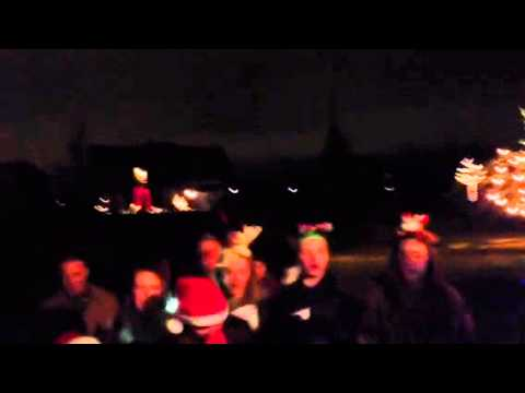 Clarence Christmas carolers holiday 2012
