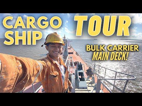 SHIP TOUR   BULK CARRIER: MAIN DECK   Seaman Vlog