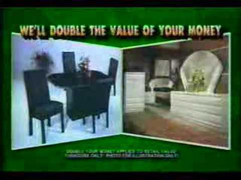 Aronson Furniture Commercial 1994 Youtube