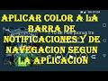 Flat Style Colored Bars: Modulo Xposed (ROOT) [Modo inmersivo en las aplicaciones]