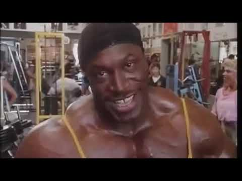 Leehaney 1988 Mr.Olympia workout at Gold's Gym