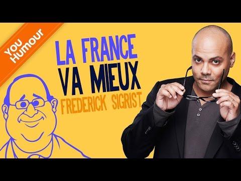 FRÉDÉRICK SIGRIST - La France va mieux