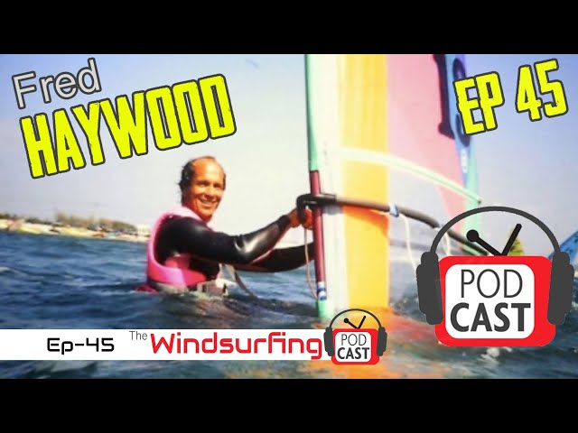 #45 - I went so FAST...  all my hair Blew OFF!!! - Speed sailor - Fred Haywood