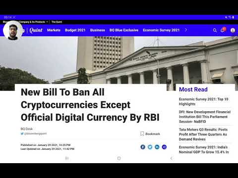 India bans Cryptocurrency | RBI to launch Indian Cryptocurrency