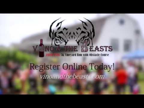 Vino & The Beasts 5K Vineyard Run - Promo 2015